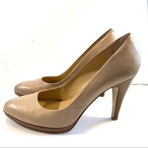 Nine West Nadiar Porcini Classic Round Toe Pump